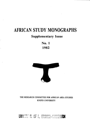 A Comparative Study of Ecological Anthropology in Tropical Africa