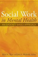 Social Work in Mental Health PDF
