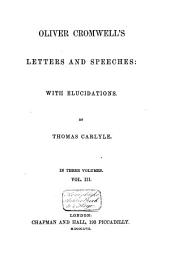 Letters and Speeches: Volume 3