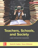 Teachers  Schools  and Society  A Brief Introduction to Education PDF