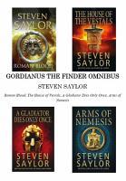 Gordianus The Finder Omnibus  Books 1 4  PDF
