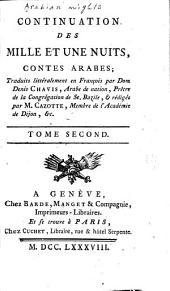 Continuation des Mille et une nuits: contes arabes, Volume2
