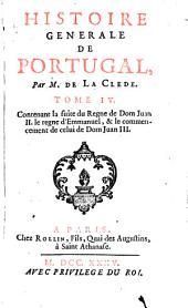 Histoire générale de Portugal: Volume4