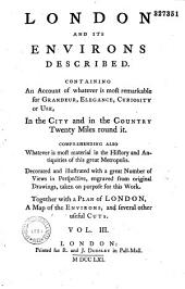 London and its environs described