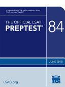 The Official LSAT PrepTest 84