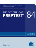 The Official LSAT PrepTest 84 Book