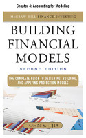 Building Financial Models  Chapter 4   Accounting for Modeling PDF