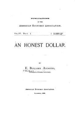 An Honest Dollar PDF