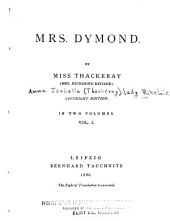 Mrs. Dymond: Volume 1
