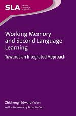 Working Memory and Second Language Learning