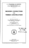 Modern Connectors for Timber Construction PDF