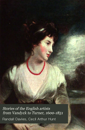 Stories of the English Artists: From Vandyck to Turner, 1600-1851