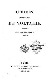 Oeuvres complètes de Voltaire: Volume21