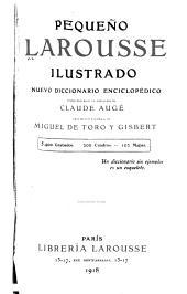 Peque  o Larousse ilustrado     b nuevo diccionario enciclop  dico PDF
