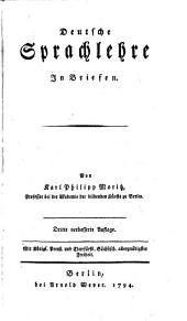 Deutsche Sprachlehre in Briefen