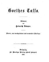 Erläuterungen zu Goethes Werken: Bände 10-11