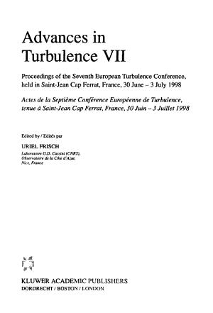 Advances in Turbulence 7