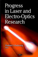 Progress in Laser and Electro Optics Research PDF