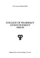 University of Michigan Official Publication PDF