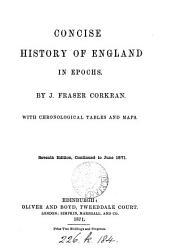 Concise history of England in epochs