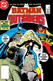Batman and the Outsiders (1983-) #16