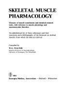 Skeletal Muscle Pharmacology PDF