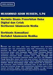 Profil Inspirasi Muhammad Adam Hussein, S.Pd
