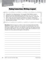 Maniac Magee Making Cross Curricular Connections PDF