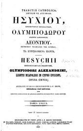 Patrologiae cursus completus ...: Series graeca, Volume 93