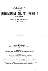 Bulletin of the International Railway Congress Association: Volume 22