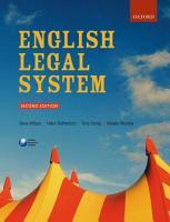 English Legal System PDF