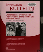Challenges and Opportunities--the Population of the Middle East and North Africa