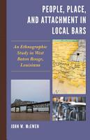 People  Place  and Attachment in Local Bars PDF