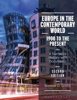 Europe in the Contemporary World  1900 to the Present PDF