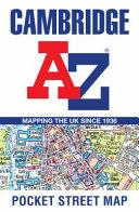 Cambridge A-Z Pocket Street Map