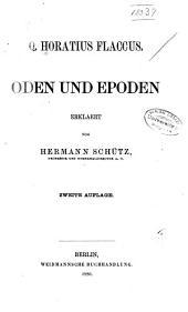 Q. Horatius Flaccus: Oden und Epoden