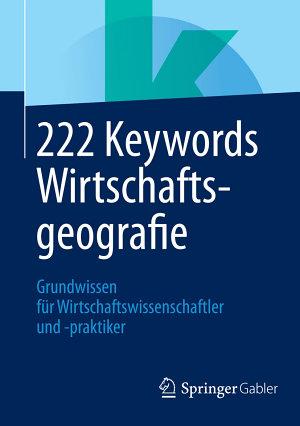 222 Keywords Wirtschaftsgeografie PDF
