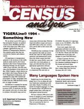 Census and You: Monthly News from the U.S. Bureau of the Census, Volume 30, Issues 5-8