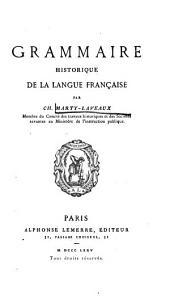 Grammaire historique