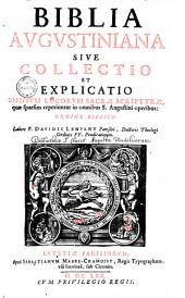 Biblia Augustiniana0: Volume 1