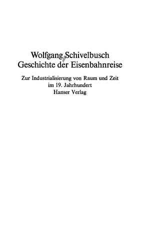 Geschichte der Eisenbahnreise PDF