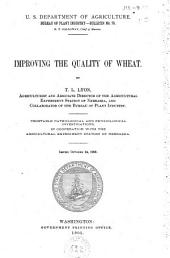 Improving the Quality of Wheat