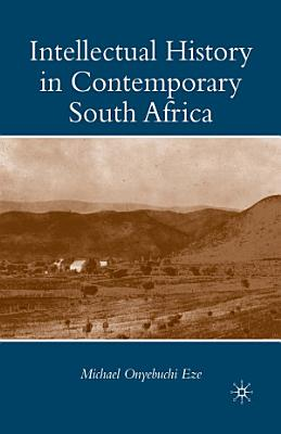 Intellectual History in Contemporary South Africa PDF
