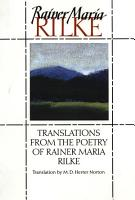 Translations from the Poetry of Rainer Maria Rilke PDF