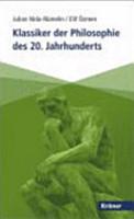 Klassiker der Philosophie des 20  Jahrhunderts PDF