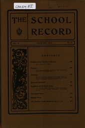 School Record: Volume 9, Issue 6
