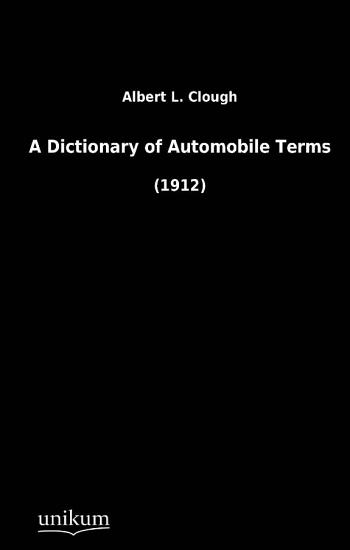 A Dictionary of Automobile Terms PDF