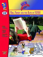 Mrs  Frisby   the Rats of Nimh Lit Link Gr  4 6 PDF