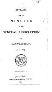 Extracts from the Minutes of the General Association of Connecticut