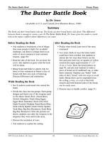 Dr  Seuss Literature Activities  The Butter Battle Book PDF